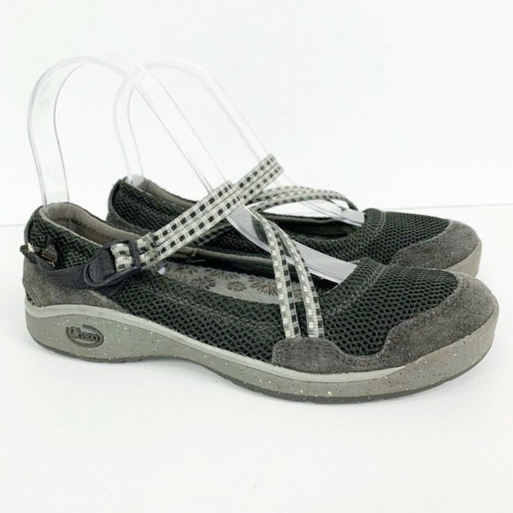 Slip On Closed Toe Strappy Sandals